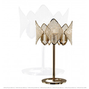 Modern Diamond-Shaped Crystal Ball table lamp Citilux
