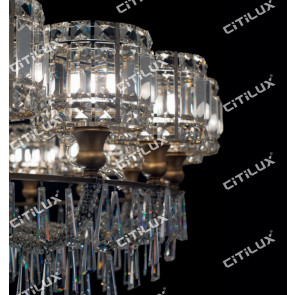 Jane European Luxury Crystal Cover Hollow Chandelier Small Citilux