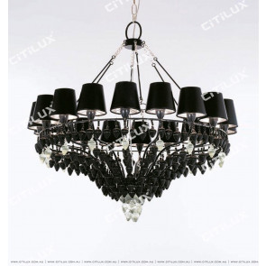 Jane Villa Black Chestnut Pendant Lantern Large Citilux