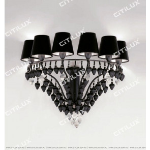 Jane Villa Black Suspension Wall Lamp Citilux