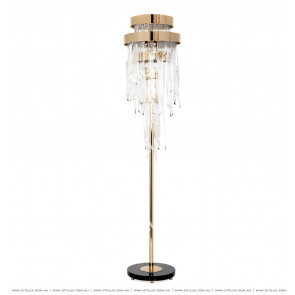 Modern Light Luxury Ice Glass Floor Lamp Citilux