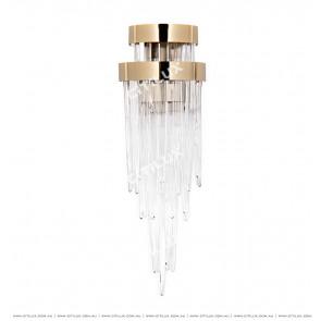 Modern Light Luxury Ice Glass Wall Lamp Citilux