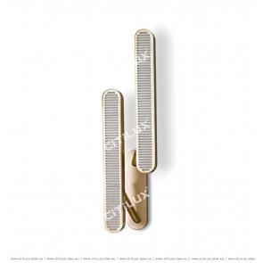Modern Minimalist Metal Texture Double Head Wall Light Citilux