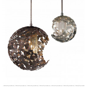 Metal Blade Stitching Ball Chandelier Large Citilux