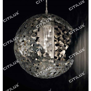 Metal Blade Stitching Ball Chandelier Small Citilux