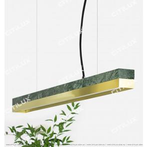 Emerald Titanium Stitching Office Chandelier/Dining Light Citilux