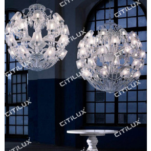 Baccarat Crystal Chandelier Citilux