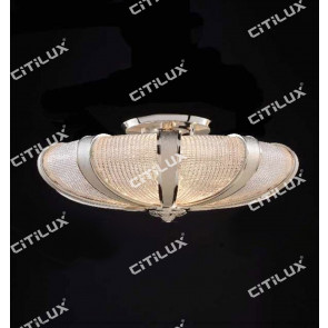 Textured Textured Glass Splicing Ceiling Light Citilux