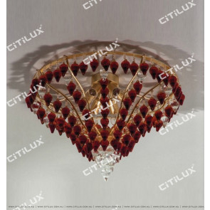 Jane Villa Coffee Color Chestnut Pendant Ceiling Lamp Citilux