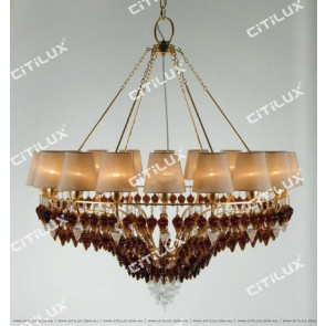 Jane Villa Coffee Color Suspension Pendant Medium Citilux