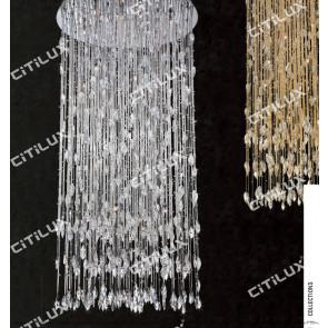 Starlight Fantasy Crystal Ceiling Light 838Mm Gold Citilux