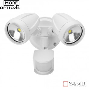 Muro 26S Twin Head 26W Led Spotlight With Sensor Led DOM