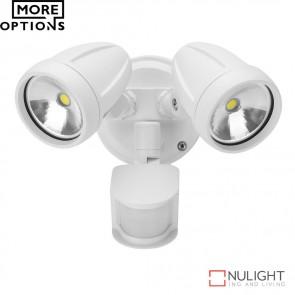 Muro 26S Twin Head 26W Led Spotlight With Sensor Led DOM