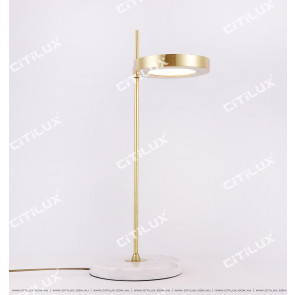 Copper Modern Single Desk Desk Lamp Citilux