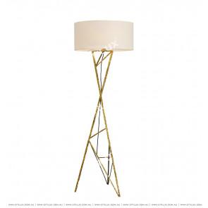 Pure Copper Geometric Floor Lamp Citilux