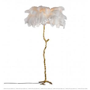 Pure Copper Feather Floor Lamp Citilux