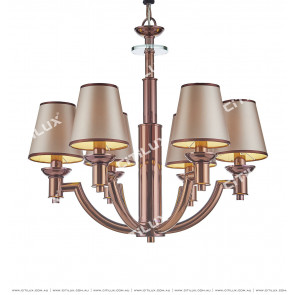 Postmodern Coffee Gold Fashion Chandelier Citilux