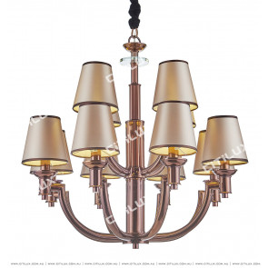 Postmodern Coffee Gold Creative Designer Chandelier Citilux