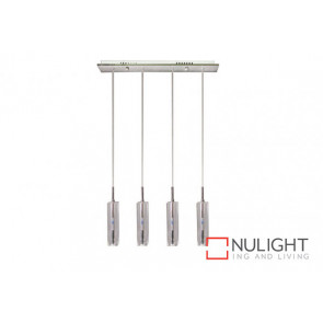 Cubo 4 Light Bar Pendant Clear VAM