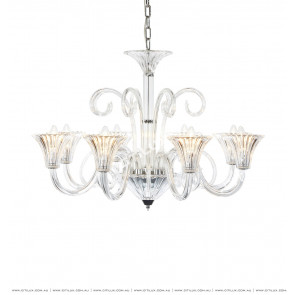 European Minimalist Crystal 8 Lights Chandelier Citilux