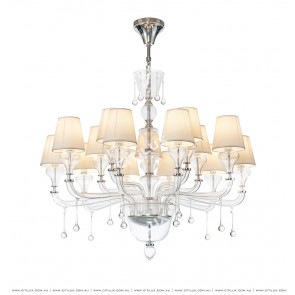 Modern European Crystal Chandelier Citilux
