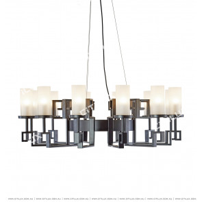 Modern New Chinese Wrought Iron Chandelier Citilux