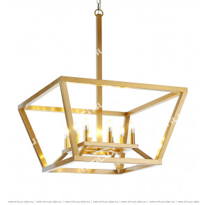 New Chinese Modern Metal Hollow Design Chandelier Citilux