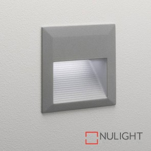 Tecla LED Textured Painted Silver 7835 AST