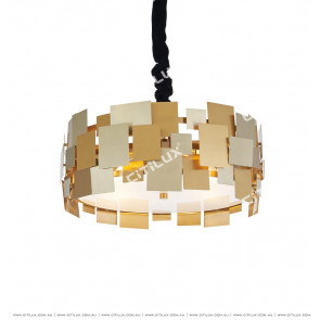 Postmodern Metal Piece Creative Chandelier Citilux