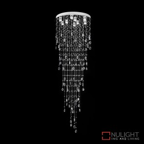 Raindrop 86 Crystal Led Pendant Diameter 860Mm White Led DOM