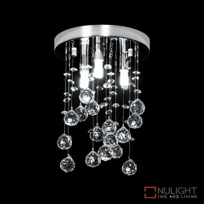 Starlight C20 Crystal Led Ctc Pendant Height 300Mm White Led DOM