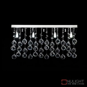 Starlight C60 Crystal Led Ctc Pendant Length 600Mm White Led DOM