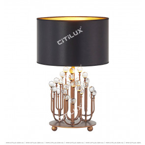 American Enamel Crystal Table Lamp Citilux