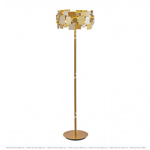 Postmodern Irregular Metal Piece Creative Floor Lamp Citilux