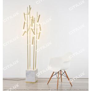 Modern Fashion Metal Marble Creative Floor Lamp Citilux