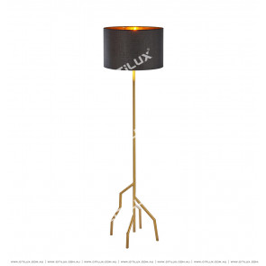 Modern Minimalist Stainless Steel Tree Sculpt Creative Floor Lamp Citilux
