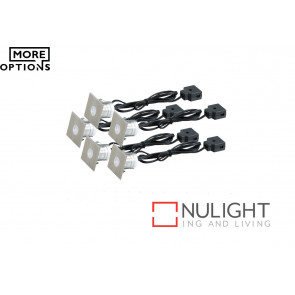 Stainless Steel LED Square Decking Light Kit VAM
