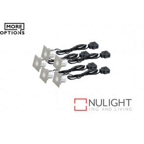 Stainless Steel LED Square Decking Light Kit VAM