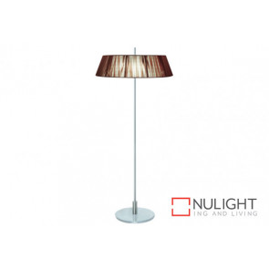 Paolo 2 Light Floor Lamp Chocl VAM