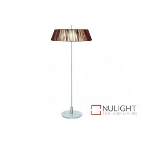 Paolo 2 Light Floor Lamp Chocl VAM
