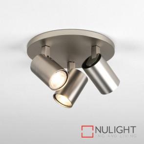 Ascoli Triple Round Matt Nickel 7950 AST