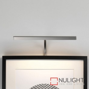 Mondrian 300 Frame Mounted LED Matt Nickel Picture Light 7898 AST