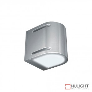 Amos Two Way 240V Wall Light Silver Finish E27 DOM