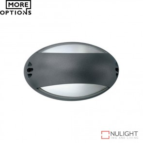 Airone Oval Banded 240V Wall Light E27 DOM