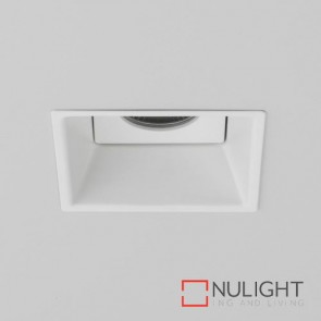 Minima Square IP65 Fire-Rated LED Matt White 5771 AST