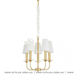 Copper Simple American Chandelier Citilux