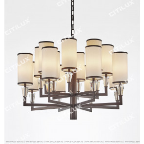 Asian Black Modern Chinese Chandelier Citilux