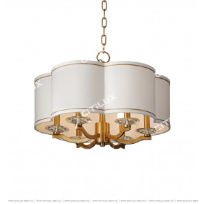 Plum-Shaped Lampshade Dining Chandelier Citilux
