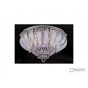 Stella 9075-60cm LED Flush Crystal Ceiling Light VAM