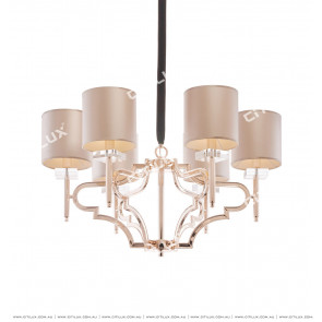 Champagne Neoclassical Chandelier Citilux
